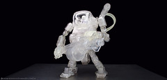 arghost 3 (Okamidensetsu) Tags: acidrain laurelghost ghost laurel mech mecha toy toys oritoy toyphotography