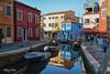 Burano--2 (Olaf Nye) Tags: burano venezia canale isola mare coloricasette barche barca merletti