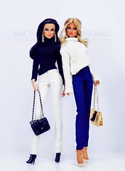 Eugenia x 2 (Michaela Unbehau Photography) Tags: integrity toys eugenia perrinfrost vivacité going public fashion royalty fr fr2 michaela unbehau fashiondoll doll dolls toy photography style stylish mode puppe fotografie