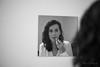 Make it up (rfabregatmoliner) Tags: redlips makeup mirror girl woman nikon nikon750 50mm portrait blackandwhite bw