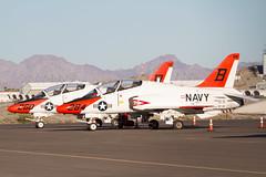 T-45C 165638 B284 & 167097 B260 TW-2 (spbullimore) Tags: t45c goshawk bae 165638 b284 167097 b260 tw2 usa us navy mcas yuma az 2015