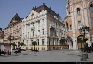 Trg Slobode, Novi Sad, Serbia