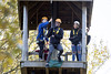 Treetop Extreme at Willen Lake South - Oct 2017 (The Parks Trust) Tags: willenlakesouth activities autumn autumn2017 children sport culture treetopextreme highropes teenagers tuition