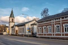 Salo Finland (m.pertti) Tags: landscape street architecture history travel church lutheran salo finland