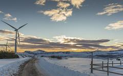 Amanece (misterkoma) Tags: canon 6d 1635 f4 is l monte frio nieve amanece morning aero eolo cielo sky nubes hora dorada golden hour white snow mountain natur nature naturaleza paisaje frost ice