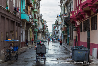 Centro Havana after the rain