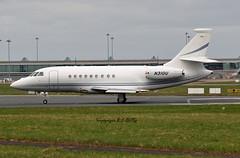 Dassault Falcon 2000EX N310U United Technologies (EI-DTG) Tags: planespotting aircraftspotting dublinairport dub eidw collinstown runway28 bizjet 20mar2015 dassaultfalcon falcon falcon2000x n310u