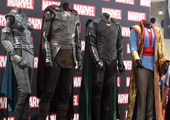 2017-Thor Costumes Photo at the Marvel Booth at SDCC-01 (David Cummings62) Tags: sandiego ca calif california comiccon con david dave cummings 2017 thor costumes marvel comics movie movies