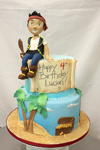 Jake Pirates Birthday Cake