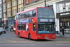 Go-Ahead London General DOE2 LX58CWO (Will Swain) Tags: brixton 28th october 2017 greater london capital city south east bus buses transport travel uk britain vehicle vehicles county country england english goahead general doe2 lx58cwo