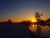 SUNRISE WITH A LITTLE SNOW P1211560 (hans 1960) Tags: winter schnee snow river trees himmel sky fluss outdoor bäume nature natur landschaft landscape home heimat morning stille stillness sun sunrise sunbeans sonne sol soleil sonnenstrahlen sonnenaufgang