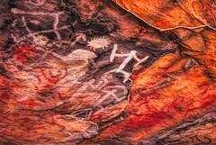 Aboriginal Rock Art, Mount Grenfell_0394 (Irwin Reynolds photo eXpressions) Tags: mountgrenfellrockart mountgrenfellrockpainting mountgrenfellnsw mountgrenfellhistoricsite aboriginalrockpainting aboriginalrockart indigenousrockart australianaboriginalculture australianaboriginalhistory rockpainting rockart primitiveart tribalart cobarnewsouthwales cobar outbacknewsouthwales outbackaustralia outbacknsw