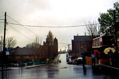Rainy day, Asheville, North Carolina.  April 2005. (brunofish) Tags: c copyrighted material brian fish aka brunosih cbrunofish