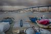 Boats and Bridge (Photos By Clark) Tags: california cities canon60d locale places where canon2470 unitedstates location coronado northamerica us bay bridge blue sand lightroom