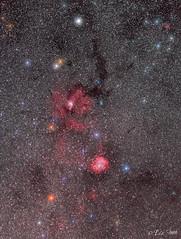 Wide field around Rosette Nebula (www.instagram.com/lizfoto_le_foto_di_liza) Tags: rosettenebula canon astrography astrophoto widefield astronomy amateurastronomy starrynight starrysky astrophotos starrynightastrophotography astrophotography