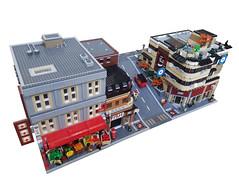 Chinatown (Benjamin_Rose) Tags: lego modular