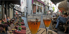 """""""Pause Brugse Zot"""" Platielstraat, Maastricht, Limbourg, Nederland, Pays-Bas (claude lina) Tags: claudelina nederland hollande paysbas maastricht ville town architecture beer bière brugsezot terrasse"""