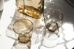 RidgeKitchen-cupssmoke-lifestyle-01-VRKCS (Charles & Marie) Tags: glasses areaware glassware ridgekitchen carafe visibility pitcher