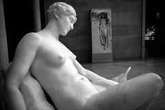 Time (BenBuildsLego) Tags: marble sculpture statue woman god goddess greek roman neoclassical classical nyc metropolitan museum new york city america