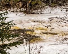Ice Jam! (Dr. Farnsworth) Tags: river ice jam chunks slippery water banks whirlpool ocqueoc falls mi michigan winter february2018