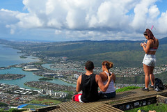 hikers-view (quirkytravelguy) Tags: koko crater hike oahu hawaii