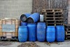 Blue is the colour... (zapperthesnapper) Tags: abstract barrels bluebarrels blue kendal sonycybershot sonyimages sony sonyrx100