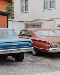 102. (jspic3) Tags: 365 50mm a7riii sony alpha amateur beginner new ducttape shop auto florida blue orange cool chevrolet chevy old cars car