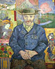 2017 Paris: musée Rodin - Le Père Tanguy (dominotic) Tags: 2017 muséerodin lepèretanguy vincentvangogh paris france oiloncanvas painting augusterodin museum hôtelbiron art history iphone6