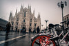 Sharing Milano - Italy (Jethro_aqualung) Tags: milano milan italy italia ourdoor winter inverno neve snow duomo piazza sharing architecture architettura mobike street art artistic italian