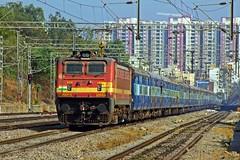 VSKP - LTT Exp. (B V Ashok) Tags: vskpltt express visakhapatnammumbai ecor 18519 scr hafizpet hfz lalaguda lgd wap4 22664