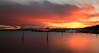 Etang de Berre (aLxPhoto13) Tags: france french etang boat bateau paca provence canon longexposure marseille sunrise clouds nuages ciel reflets reflection
