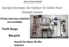 Garage Storage An Option To Solve Your Garage Issues (rackyourgarage) Tags: lake garage