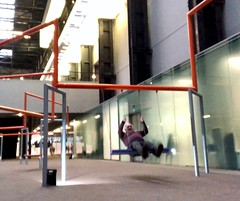 On a swing (♔ Georgie R) Tags: tatemodern bankside london swing