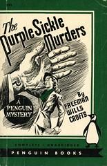 Penguin Books 533 - Freeman Wills Croft - The Purple Sickle Murders (swallace99) Tags: penguin vintage 40s murder mystery paperback