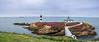Isla Pancha (cvielba) Tags: acantilados cantabrico faro flores isla lugo mar pancha panoramica playa ribadeo
