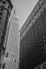 Empire State (marktmcn) Tags: empire state building view tower towers skyscraper tall buidings architecture new york d610 nikkor 28300mm blackandwhite monochrome