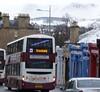 Descending Morningside Road, Edinburgh (calderwoodroy) Tags: ribbet sn11ebx 367 pentlandhills edinburghtransport transportforedinburgh lothianbuses doubledecker bus snow winter morningside morningsideroad edinburgh scotland