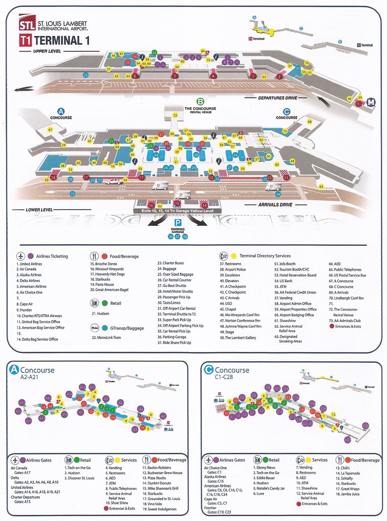 The World's Best Photos of airport and stl - Flickr Hive Mind on eureka map, st. louis city map, pacific map, university city map, normandy map, winchester map, lambert parking map, rock hill map, clayton map, beverly hills map, lambert field map, st. louis metrolink route map, saint louis map, lambert street baltimore map, lake lotawana map, caribbean resort myrtle beach map, greece ferry map, lambert concourse d, st. louis lambert terminal map,