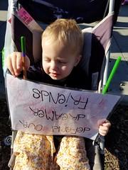 Holding the sign (quinn.anya) Tags: paul toddler dreamer sign womensmarch womensmarchoakland womensmarch2018