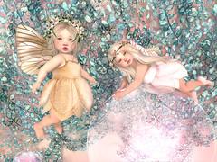 Fairy <3 (-| A V | S A G E |- Sabby / Kumiko) Tags: secondlife fairy sisters bento alice summer baby bebe toddleedoo mesh garden