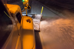 @20180112-D5 PlowingUS33-90 (OhioDOT) Tags: district5 odot plow ridealong route33 salt six snow storm plowing truck