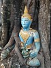 Tree Buddha (bindubaba) Tags: laos vientiane buddha buddhism