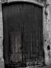Puerta 2 (Lucy GH) Tags: puerta door blackandwhite tarragona españa vendrell spain madera bosque