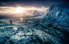 Dawn in Gods Country (David Haughton) Tags: scotland highlands glencoe beinnachrulaiste buachailleetivemor dawn sunrise winter february snow mountains spectacular scottish fineart landscape davidhaughton