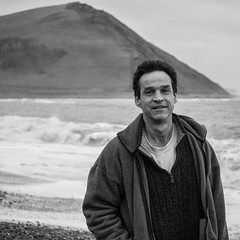 Neil (evans.photo) Tags: people waves ceredigion portrait aberystwyth outdoor beach wales coast stranger informal
