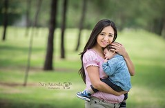 Fotografía de madre e hijo en León,Gto (Paty Aranda) Tags: sesión aire libre metropolitano león gto naturaleza