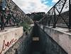 Stepping Down (jkdeane) Tags: paris france pont du neuf locks love