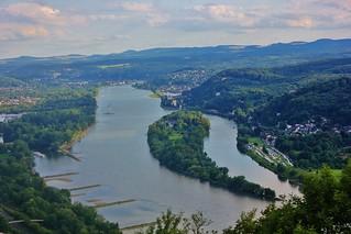 Bird's eye view over Bonn