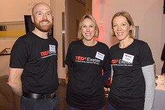 TEDxExeter team members Gordon Richardson, Catherine Woolfgang & Lucy Sainsbury at the TEDxExeter 2018 launch event at Royal Albert Memorial Museum (TEDxExeter) Tags: exeter tedxexeter tedx tedtalks exetercity devon ramm royalalbertmemorialmuseum technology entertainment design innovation speakers audience tedxexeter2018 tedxexeter2018launch tedxexeterlaunch sponsors crowd 2018 england eng