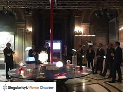 SingularityU Rome Chapter - Dinner (4)